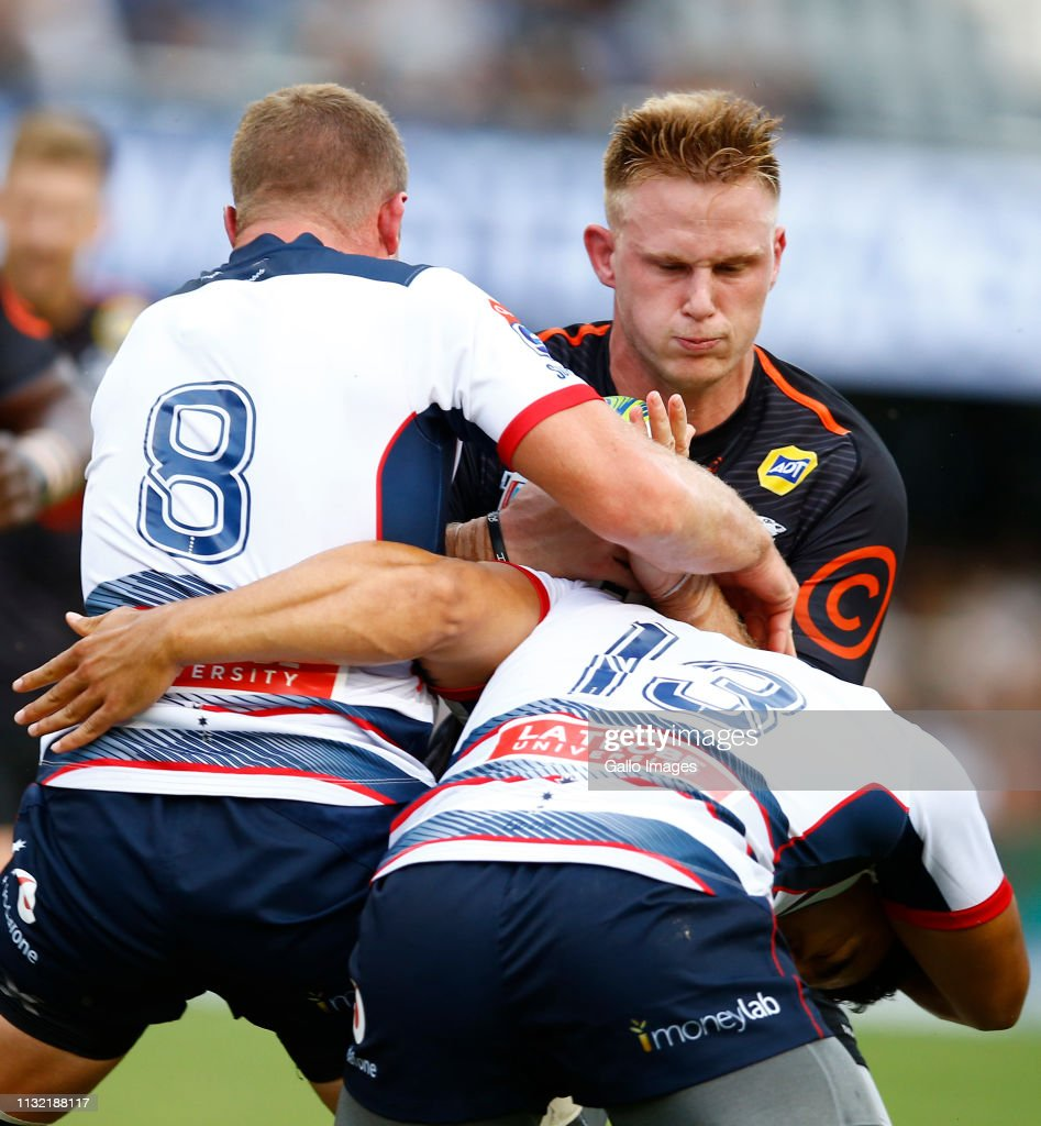Super Rugby Rd 6 - Sharks v Rebels : News Photo