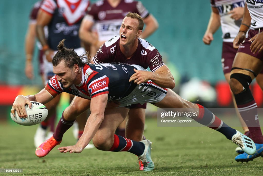 NRL Rd 1 - Roosters v Sea Eagles : News Photo