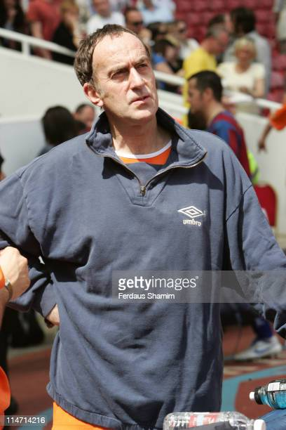 Angus Deaton during Music Industry Soccer Six May 20 2007 at Upton Park in London Great Britain
