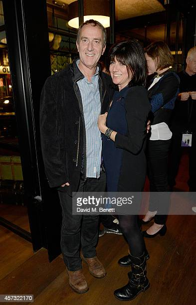 Angus Deayton and Emma Freud attend as the newly opened hotel The Hoxton Holborn launches with an immersive theatre play The Backstage Tour written...