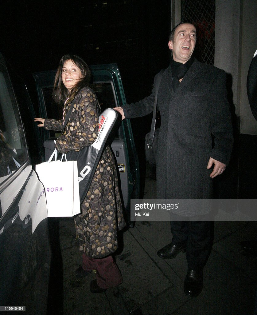 Celebrity Sightings at The Ivy Restaurant in London - January 18, 2006