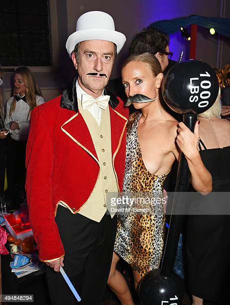 Angus Deayton and Martha Ward attend The Unicef UK Halloween Ball raising vital funds to support Unicef's lifesaving work for Syrian children in...
