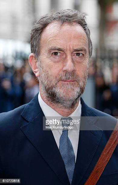 Angus Deayton attends a memorial service for the late Sir Terry Wogan at Westminster Abbey on September 27 2016 in London England Radio and...