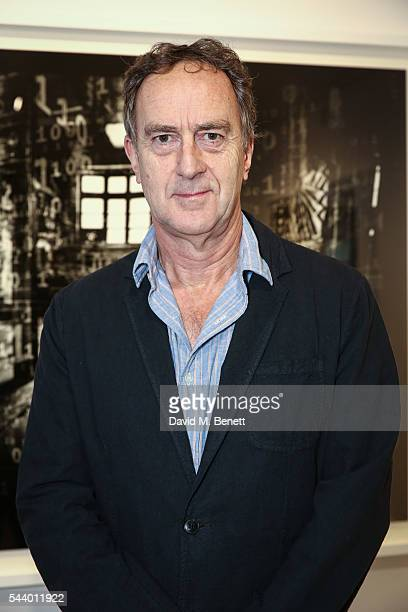 Angus Deayton attends a private view of 'Ordinary Madness' by Charlotte Colbert at Gazelli Art House on June 30 2016 in London England
