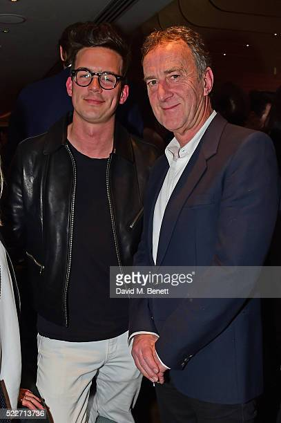Angus Deayton attends Leni's Model Management's Spring Party in the Dandelyan Bar at Mondrian London on April 20 2016 in London England