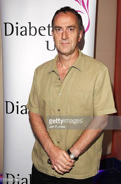 Angus Deayton attends The Escapist premiere at Apollo West End Cinema on June 10 2008 in London England
