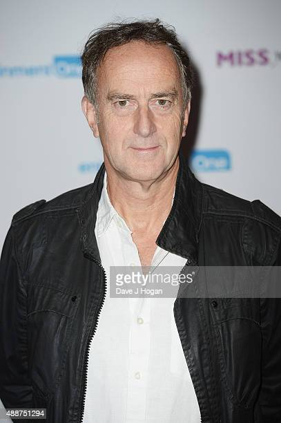 Angus Deayton attends the European Premiere of Miss You Already at Vue West End on September 17 2015 in London England