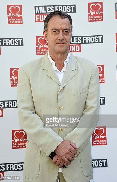 Angus Deayton attends The Frost family final Summer Party to raise money for the Miles Frost Fund in partnership with the British Heart Foundation on...