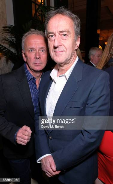 Angus Deayton attends the launch of The Ned London on April 26 2017 in London England