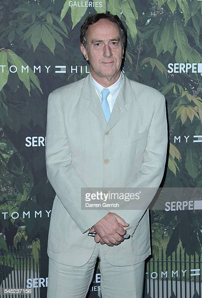 Angus Deayton attends the Serpentine Summer Party cohosted by Tommy Hilfiger at the Serpentine Gallery on July 6 2016 in London England