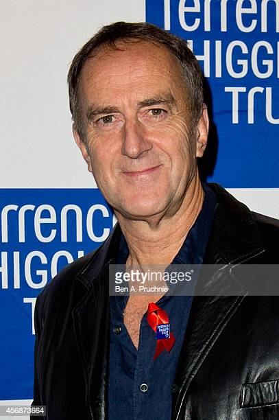 Angus Deayton attends The Terrance Higgins Supper Club at Underglobe on October 8 2014 in London England