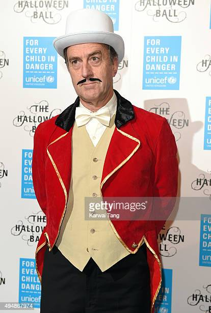 Angus Deayton attends the UNICEF Halloween Ball at One Mayfair on October 29 2015 in London England