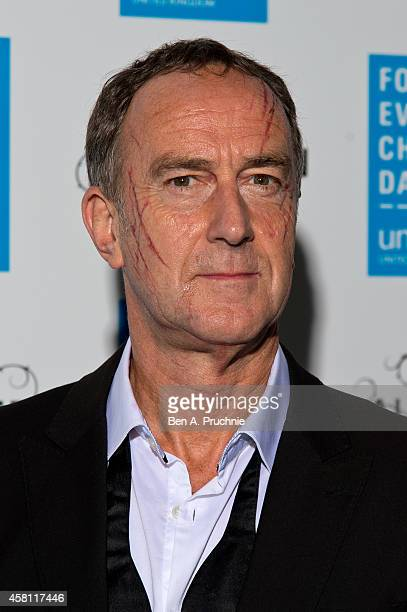 Angus Deayton attends the UNICEF Halloween Ball at One Mayfair on October 30 2014 in London England