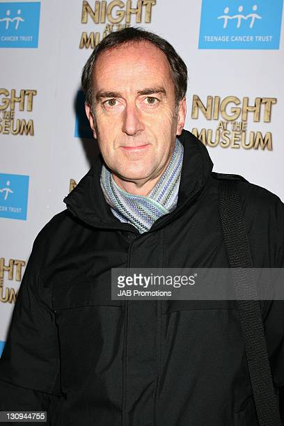Angus Deayton during 'Night at the Museum' London Charity Screening Inside in London Great Britain