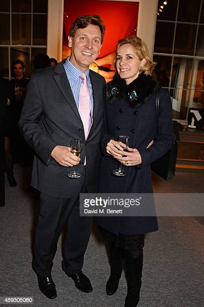 Angus Forbes and Darcey Bussell attend the book launch and private view of Mary McCartney Monochrome And Colour curated by De Pury De Pury on...