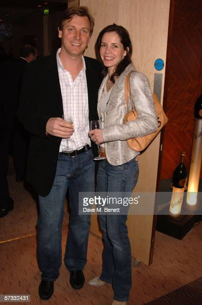 Angus Forbes and Darcey Bussell attend the Champagne Ruinart UK Sommelier Of The Year Competition 2006 at the Carlton Tower Hotel on April 12 2006 in...