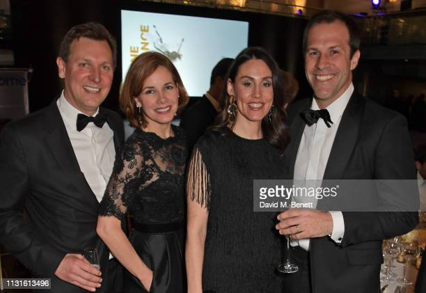 Angus Forbes Dame Darcey Bussell Lucy Connor and Greg Rusedski attend Borne To Dance a special charity performance in aid of Borne at Paul Hamlyn...