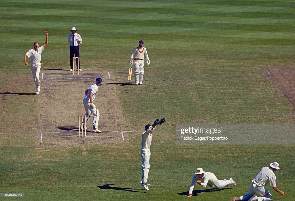 Australia v England, 2nd Test, Melbourne, Dec 90 : News Photo
