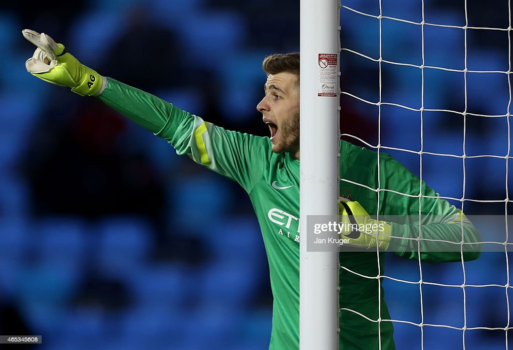 Manchester City FC v FC Schalke 04 - UEFA Youth League: Round of 16 : News Photo