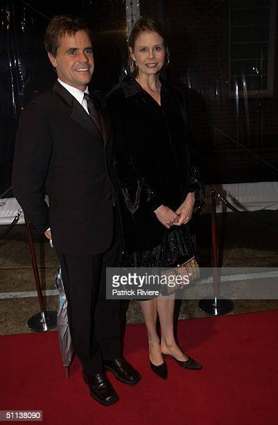 Angus Hawley and Antonia Kidman at The Annual Mission Australia Foundation event at the unique setting of Sydney Harbour's historic Cockatoo Island...