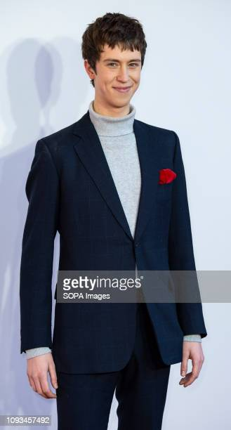 Angus Imrie attends a gala screening of 'The Kid Who Would Be King' held at Odeon Leicester Square.