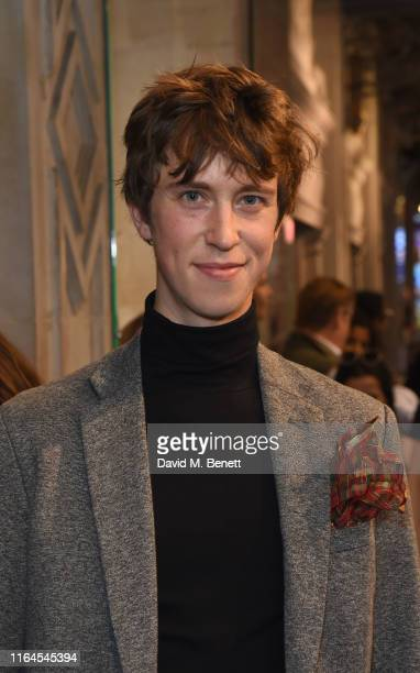 """Angus Imrie attends the press night performance of """"Fleabag"""" at The Wyndham's Theatre on August 28, 2019 in London, England."""