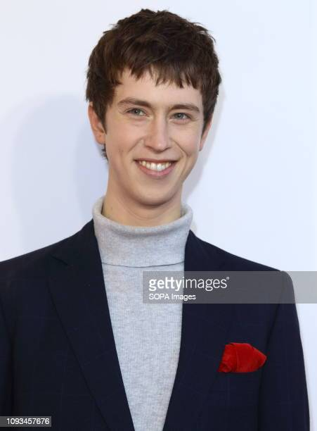 Angus Imrie seen at The Kid Who Would Be King Gala screening at the Odeon Luxe Leicester Square.