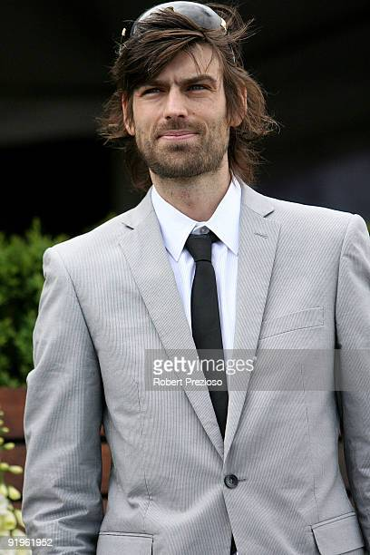Angus Kennett attends The BMW Caulfield Cup at Caulfield Racecourse on October 17 2009 in Melbourne Australia