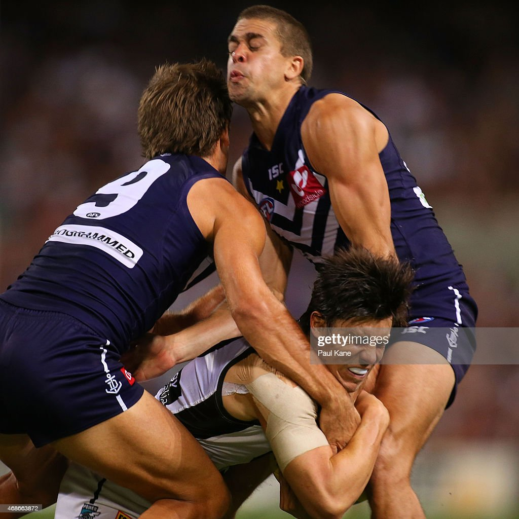 AFL Rd 1 - Fremantle v Port Adelaide