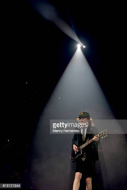 Angus Young at BBT Center on August 30 2016 in Sunrise Florida