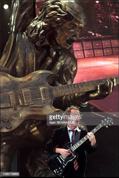 Angus Young in SaintDenis France on June 22 2001