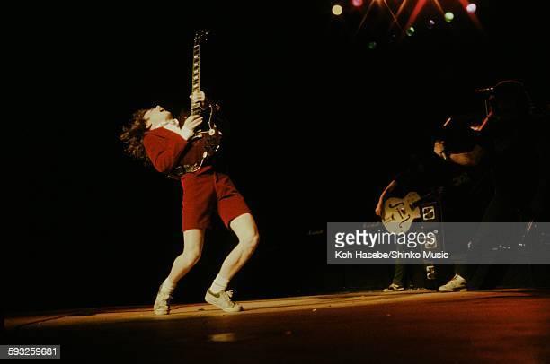 AC/DC Angus Young live at Nippon Budokan Tokyo February 4 1981