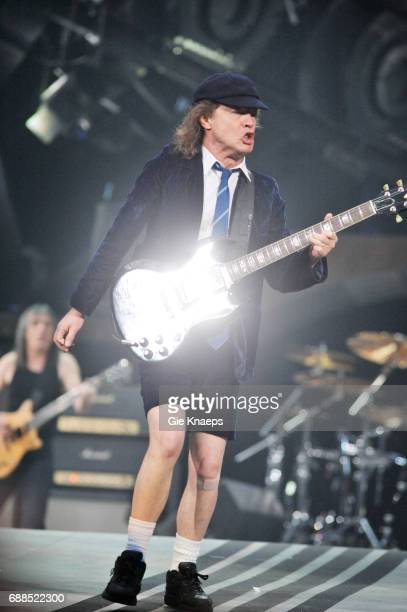 AC/DC Angus Young Malcolm Young ACDC Amsterdam ArenA Amsterdam Holland