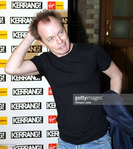 Angus Young of AC/DC during Kerrang Awards 2006 Arrivals at The Brewery in London Great Britain