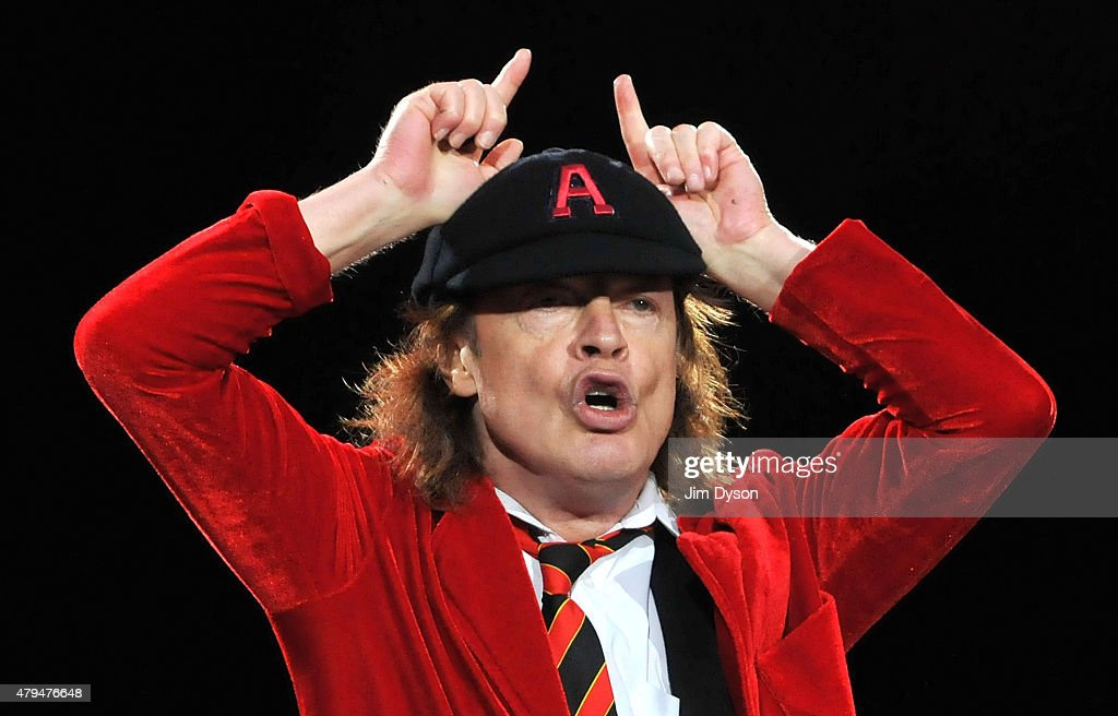 AC/DC Perform At Wembley Stadium