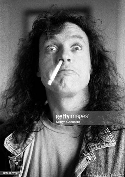 Angus Young of AC/DC portrait Germany 1995