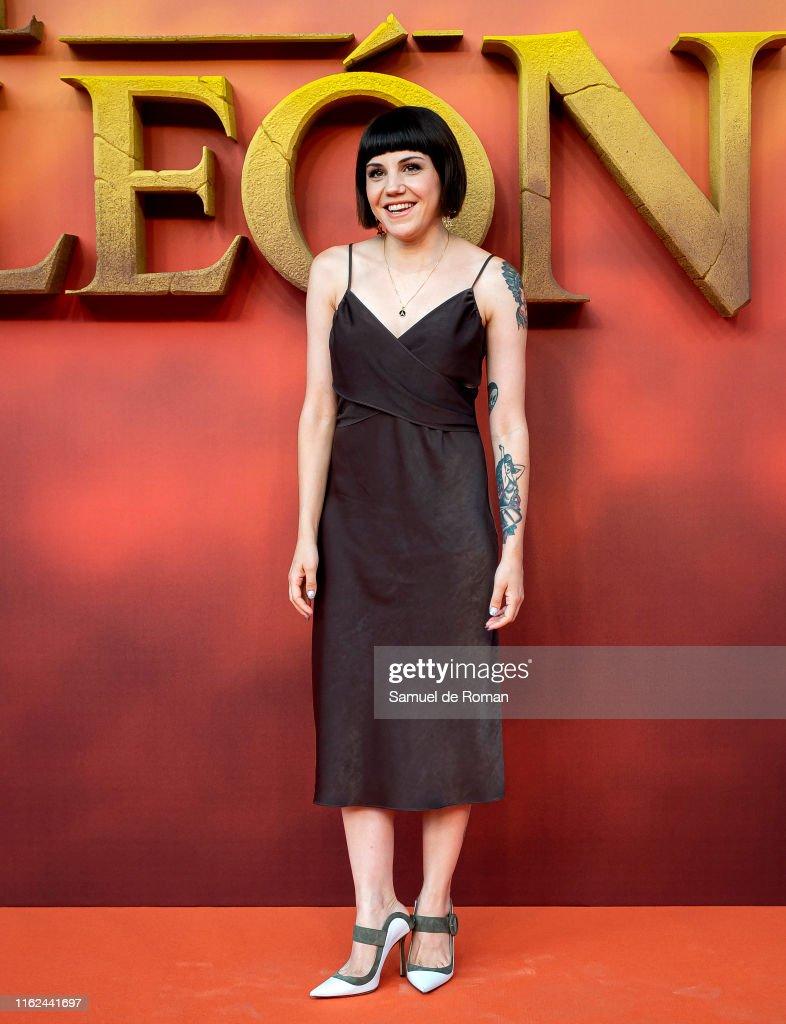 "Angy Fernández Videos Porno angy fernandez attends ""el rey leon"" madrid premiere on july"