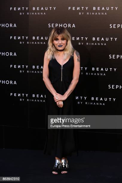 Angy Fernandez attends Fenty Beauty by Rihanna Launch on September 23 2017 in Madrid Spain