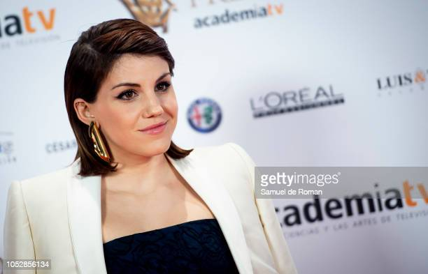 Angy Fernandez attends Iris Awards Photocall on October 23 2018 in Madrid Spain