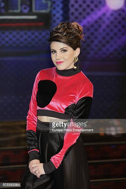 Angy Fernandez attends 'Levantate All Star' photocall on April 2