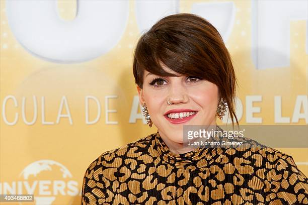 Angy Fernandez attends 'Mi Gran Noche' premiere at Kinepolis Cinema on October 20 2015 in Madrid Spain