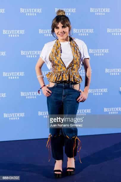 Angy Fernandez attends the Belvedere Vodka party at the Pavon Kamikaze Teather on May 25 2017 in Madrid Spain