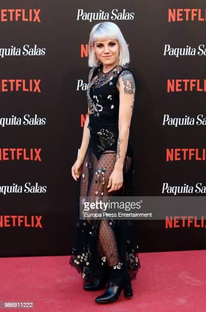 Angy Fernandez attends World Premiere of Netflix's Paquita Salas Season 2 on June 28 2018 in Madrid Spain