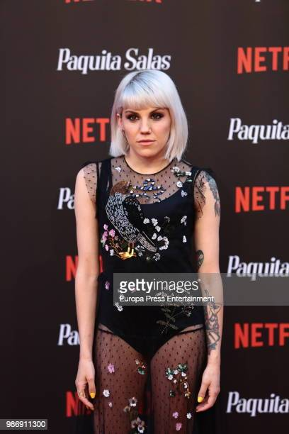 Angy Fernandez attends World Premiere of Netflix's Paquita Salas Season 2 on June 28 2018 in Madrid Spain