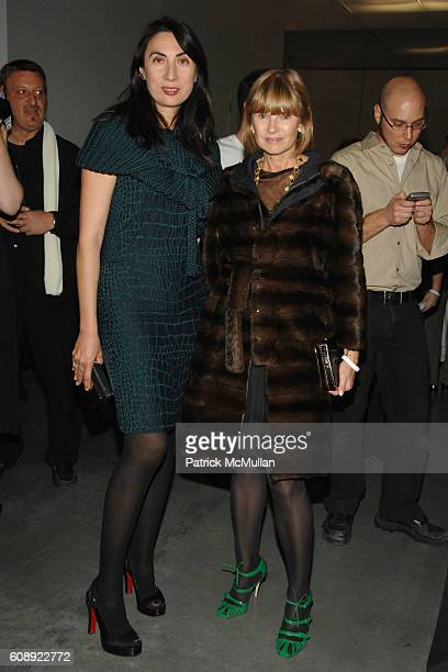 Anh Duong and Anne McNally attend CALVIN KLEIN COLLECTION First Look of THE NEW MUSEUM on The BOWERY at The New Museum on The Bowery on November 28...