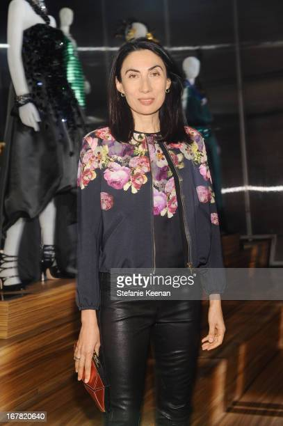 Anh Duong attends Catherine Martin And Miuccia Prada Dress Gatsby Opening Cocktail on April 30 2013 in New York City