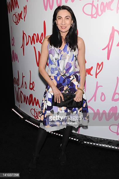 Anh Duong attends the 3rd annual Diane Von Furstenberg awards at the United Nations on March 9 2012 in New York City