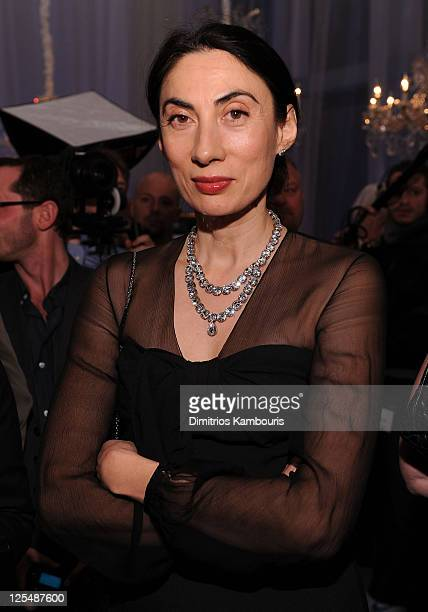 Anh Duong attends the Dior celebration of the reopening of its 57th Street Boutique cocktail party at LVMH Tower Magic Room on December 9 2010 in New...
