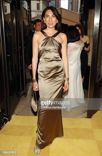 Anh Duong during 2005 CFDA Fashion Awards Inside Arrivals at New York Public Library in New York City New York United States