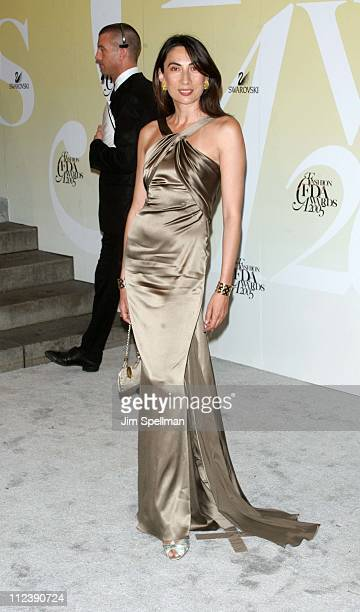 Anh Duong during 2005 CFDA Fashion Awards Outside Arrivals at New York Public Library in New York City New York United States